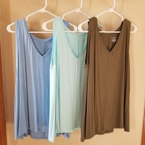 Lane Bryant swing tanks, 3 colors available, 14/16